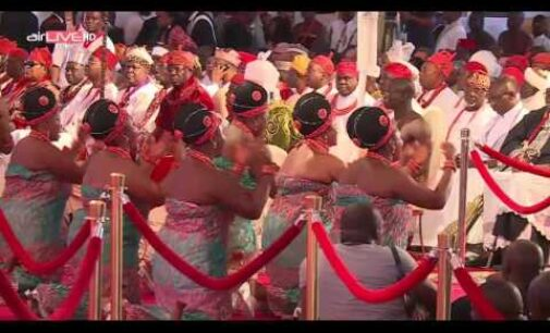 Coronation of The Oba of Benin