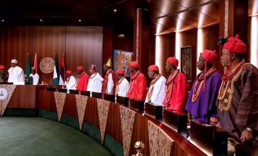 Details of Buhari's meeting with Isoko leaders